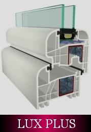 plastové okná gealan S8000 IQ Lux plus