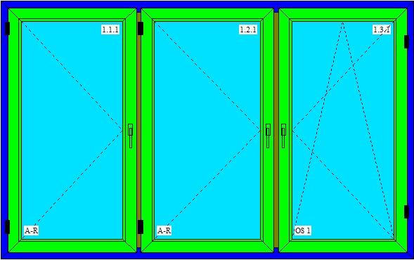 Panelakove okno rozmer
